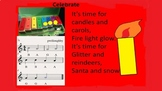 Celebrate - A Christmas song  with a simple 3 note accompaniment Age 6-10 video
