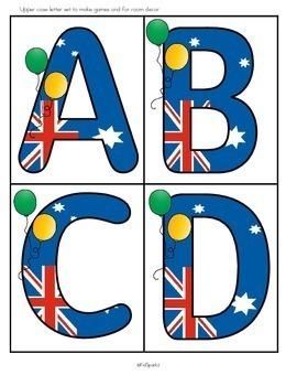 AUSTRALIA and AUSTRALIA DAY Activities for Preschool, Pre-K and Kindergarten