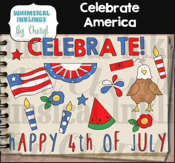 Celebrate America Clipart Collection