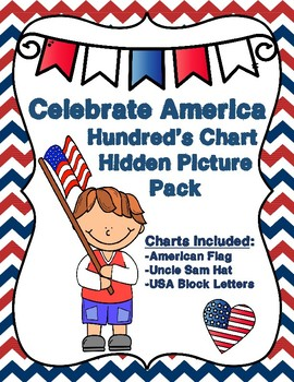 Celebrate America Hundred's Charts Hidden Pictures Pack