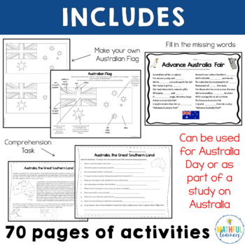 Australian Lesson Plans - English - Outdoor Classroom Day ...  |Australia Day Lesson Plans