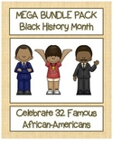 Celebrate Black History Month - 32 Mega Bundle SAVE 80% -Search, Scramble,&Maze!