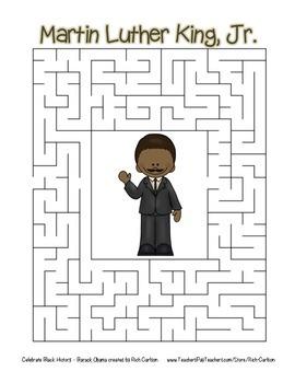 Celebrate Black History Month - 32 Mega Bundle SAVE 80% -Search, Scramble,&Maze!