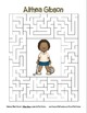 Celebrate Black History Month – Althea Gibson - Word Search, Scramble, and Maze!