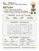 Celebrate Black History Month – Bill Pickett - Word Search