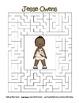 Celebrate Black History Month – Jesse Owens - Word Search, Scramble, and Maze!