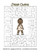 Celebrate Black History Month – Jesse Owens - Word Search,