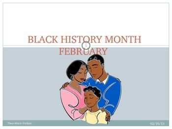 Celebrate Black History Month PP