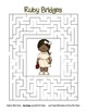 Celebrate Black History Month – Ruby Bridges - Word Search, Scramble, and Maze!