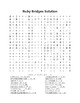 Celebrate Black History Month - Ruby Bridges - Word Search! (color version)