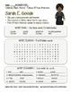 Celebrate Black History Month – Sarah E. Goode - Word Search, Scramble, & Maze!