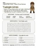 Celebrate Black History Month – Tuskegee Airmen - Word Sea
