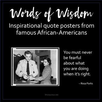 Words of Wisdom - Celebrate Black History Month with 34 ...