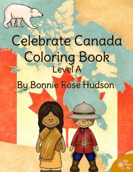 Celebrate Canada Coloring Book-Level A