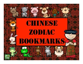 Celebrate Chinese New Year with Zodiac Bookmarks
