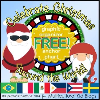 Celebrate Christmas Around the World - FREEBIE!