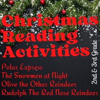 Celebrate Christmas Common Core Reading and ELA Skills