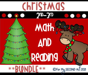 Celebrate Christmas Common Core Reading and Math MEGA BUNDLE