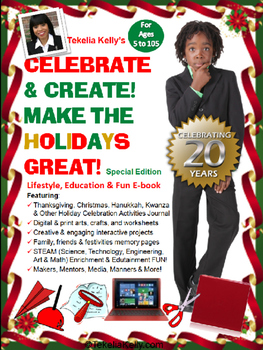 Celebrate & Create! Make The Holidays Great!-Printable E-book PREVIEW