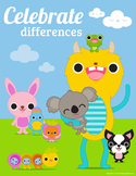 Celebrate Differences / Tolerance Classroom Poster 8 1/2 x 11