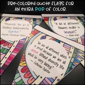 Celebrate Diversity Banner Craftivity