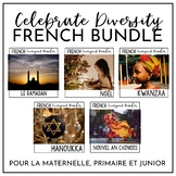 Celebrate Diversity French Emergent Reader Bundle DIVERSIT
