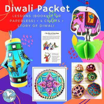 Celebrate Diwali, or the Festival of Lights, in India!