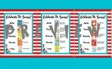 Celebrate Dr. Seuss Dress Up Days Spirit Week Read Across America Flyer Letter