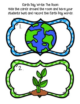 Celebrate Earth Day! Activities, Printables and Games