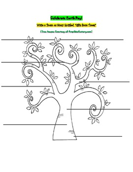 """Celebrate Earth Day! Reading, Writing and Art Activity: """"Gifts From Trees"""""""