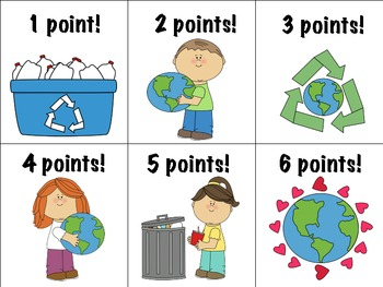 Celebrate Earth Day! Reinforcement Game