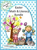 Kindergarten Easter Math and Literacy Activities BUNDLE Special Education ESL
