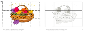 Easter  Cut and Paste Printable Puzzles for Centers or Stations Craftivity