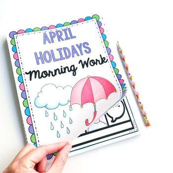 Morning Work: April Holidays