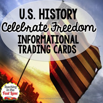 Celebrate Freedom Informational Trading Cards (U.S. History)
