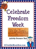 Celebrate Freedom Week Activity Resource Pack