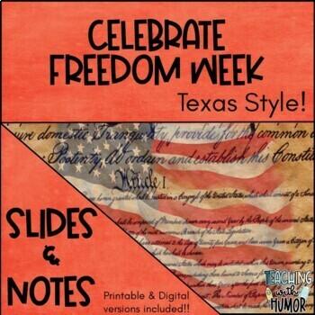 Celebrate Freedom Week Texas Style!