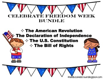 Celebrate Freedom Week bundle