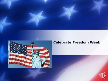Celebrate Freedom Week PP