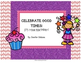 Celebrate Good Times! Student Birthday Pack