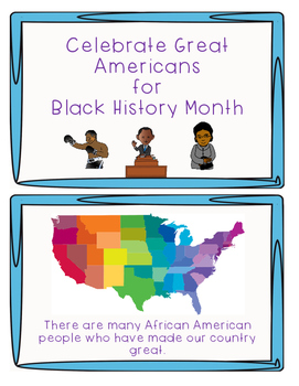 Celebrate Great Americans for Black History Month