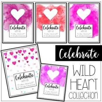 Celebrate! Invitation Cards