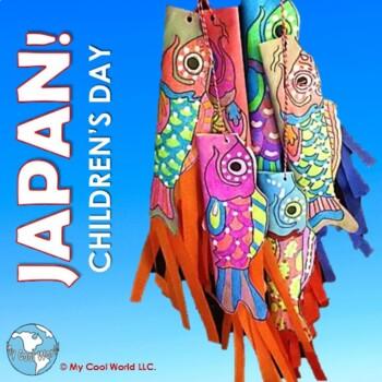 Japan! Kodomo no Hi, or Children's Day - Includes Carp Streamer Craft
