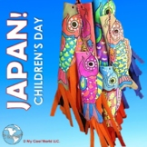 Japan! Children's Day - Lesson with Images, Carp Fish Streamer Craft