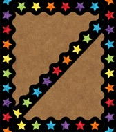 Celebrate Learning Watercolor Stars