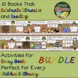 Celebrate Libraries 10 Picture Book Activity BUNDLE - NO P