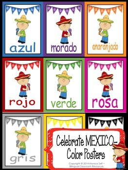 Celebrate MEXICO-Color Posters