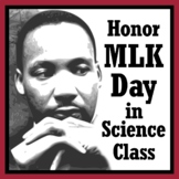Celebrate Martin Luther King Jr. in Science - Periodic Table Worksheet Activity