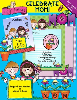 Celebrate Mom Clip Art & Printables