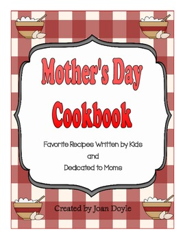Mother's Day Class Cookbook